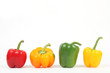 Vier Sorten Paprika