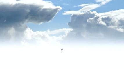 Tür-Animation-Himmel