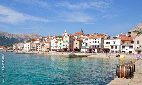 Urlaubsort Baska auf der Insel Krk in Kroatien