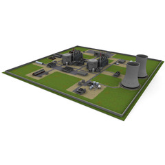 3d nuclear station