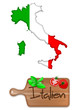 Italien - Essen und Land