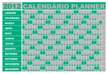 Planner 2012