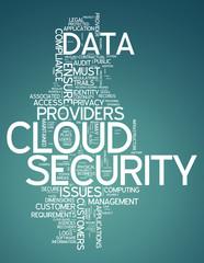 """Word Cloud """"Cloud Security"""""""