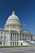 Washington DC, Capitol building east facade in a clear sky