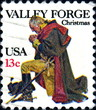 Valley Forge.1777. Christmas. US Postage.