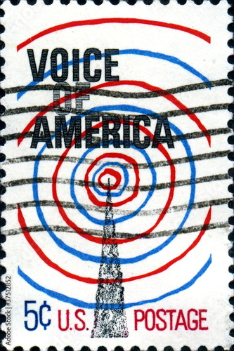 Voice of America. US Postage.