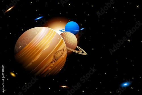 Tuinposter Kosmos Solar System