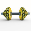 pineapple_dumbbells