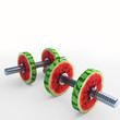 watermelon_dumbbells