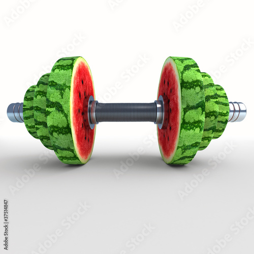 watermelon_dumbbells 3