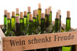 Wein schenkt Freude