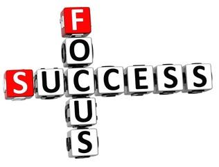 3D Success Focus Crossword