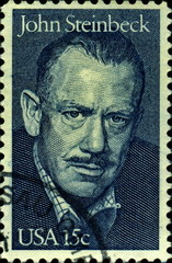 John Steinbeck. 1902-1968. US Postage.