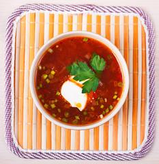 red borscht (soup)