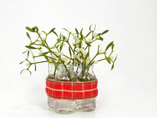 Mistelzweige in der Vase