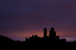 Corfe Castle before Dawn