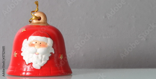 Bell with Santa Claus,Christmas time