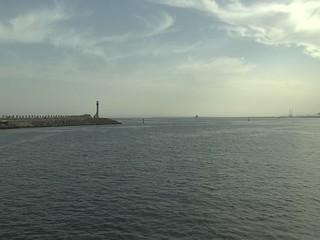 Constanta (Romania) Harbor Entrance