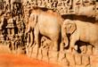 Ganga-Relief, Tempel von Mahabalipuram, Indien
