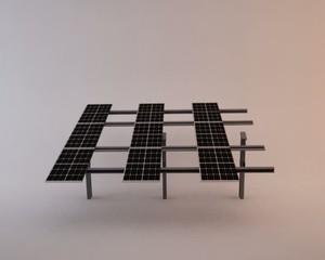 pannelli solari fotovoltaico 3d PAL