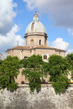 Rome - basilica of Saint John of the Florentines poster