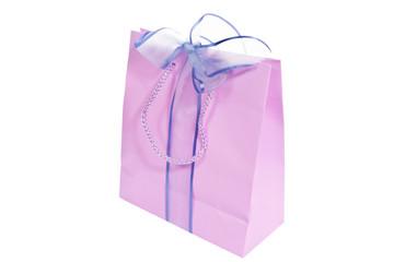 Bolsa con lazo de regalo