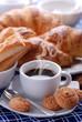 caffè e croissant - due