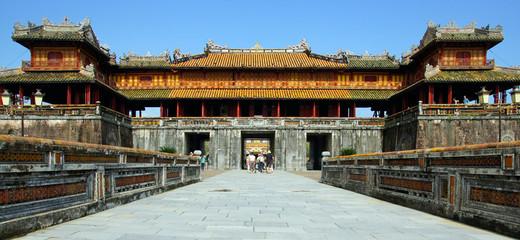 porte de la citadelle impérial de Hué