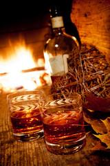 Cognac con caminetto