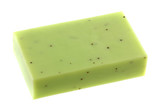 Lemongrass Glycerin Bar Soap with scrub beads