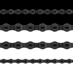 Seamless bicycle chain