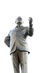 statue The Right Excellent Prime Minister Errol Walton Barrow In