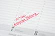 autogenes Training termin im kalender notiert