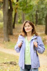 Female hiker