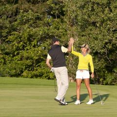 erfolgreiches Golfspiel