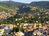 panorama of Sarajevo poster