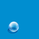 bubble blue square