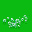 bubbles green square