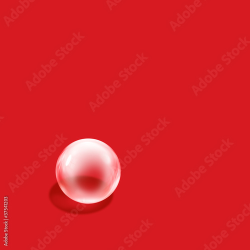 bubble red square