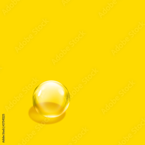 bubble yellow square