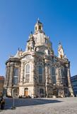 Dresdens restored Frauenkirche poster