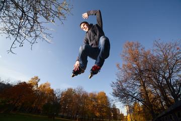 Jumping Roller-skater