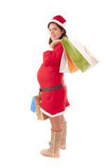 Mrs. Santa Claus pregnant