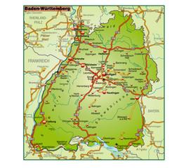 Baden-Württemberg_Umgebung_bunt