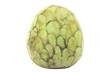 Cherimoya fruit isolated on white