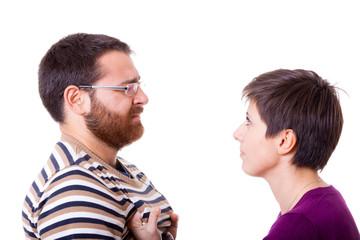 Woman Slapping a Man
