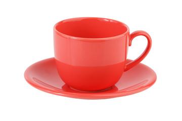Porcelain coffee set pink
