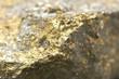 金色の鉱石・先端のアップ