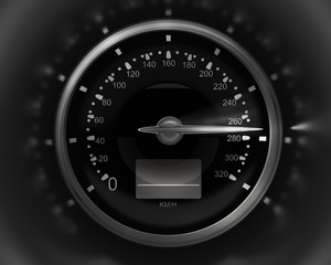 3D Speedometer. rendering ( high resolution )