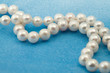 Elegant jewelry pearl beads